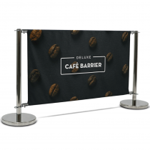 Deluxe Café Barrier 1500mm Full Kit