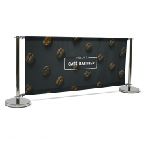 Deluxe Café Barrier 2000mm Full Kit