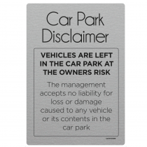 Car Park Disclaimer Notice