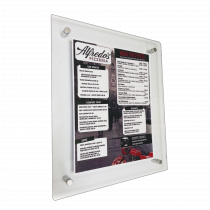 Wall Mounted Menu Holder