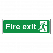 Fire Exit Sign - Final Exit Point