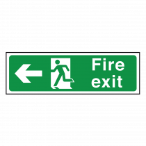 Fire Exit Sign Left