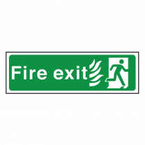 Final Exit - National Health Service Fire Exit Sign