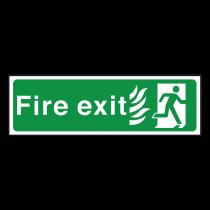 NHS Fire Exit Sign Final Exit