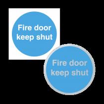 Fire Door Keep Shut - Sign & Disc