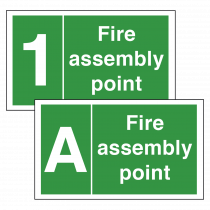 Fire Assembly Point Zone Sign