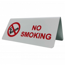 No Smoking Table Notice
