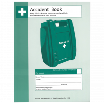 GDPR Compliant Accident Record Book - A4