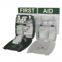 British Standard Workplace First Aid Kits and Eye Wash Kits