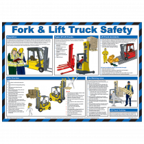 Fork & Lift Truck Safety Poster