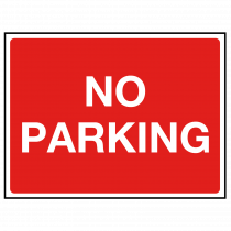 No Parking Car Park Sign
