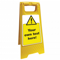 Custom Folding Floor Signs