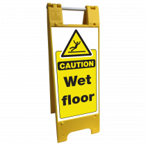 Wet Floor Heavy Duty Floor Stand