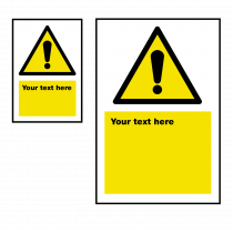 Warning Safety Sign 2