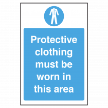 Protective Clothing must be Worn Notice