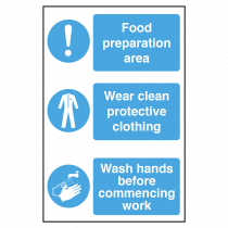 Food Hygiene and Safety Sign