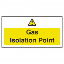 Gas Isolation Point Notice