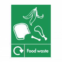 Food Waste Recycling Sign