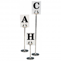 Table Stand Letter Cards