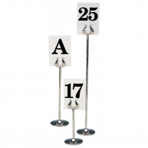 Replacement Table Stand Number Cards and Letter Cards