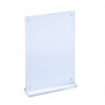 Magnetic Acrylic T-Stand Poster Holder