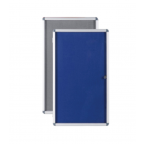 Lockable Information Felt Pin Boards