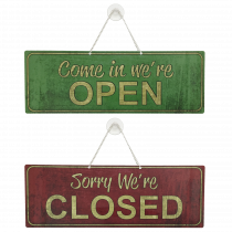 Shop Open / Closed Notice