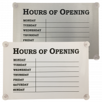Hours of Opening Window Notices
