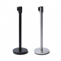 2.5m Economy Retractable Belt Barrier Posts