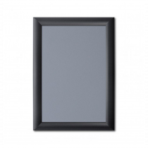 Black 25mm Poster Display Snap Frames