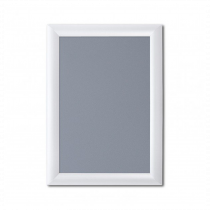 White 25mm Poster Display Snap Frames