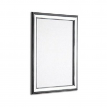 Polished Silver 25mm Poster Display Snap Frames