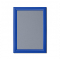 Blue 25mm Poster Display Snap Frames