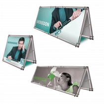 Double Sided Display A-Banner & Frame