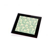 Glass Coaster Mat Photo Holder