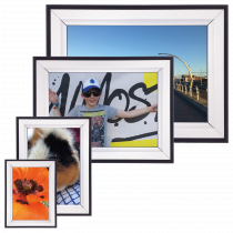 Double Colour 42mm Poster Display Snap Frame