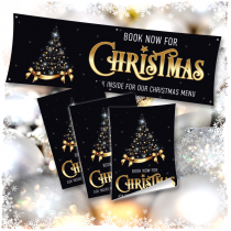 Book Now for Christmas Banner & Poster Bundle.