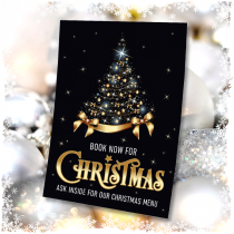 Book now for Christmas waterproof posters. Sizes available A3, A2 & A1