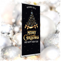Merry Christmas Pop Up Banners