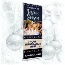 Personalised Christmas Pop up Banners