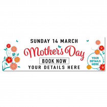 Book Now Mothers Day Banner