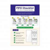 FIFO Checklist. How to use FIFO - Staff Guidance Notice