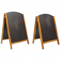 Premium Reversible curved Wooden A Board