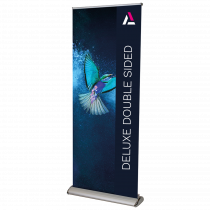 Deluxe Double Sided Pull Up Roller Banner
