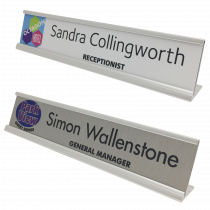 Hotel Reception / Desk Nameplates