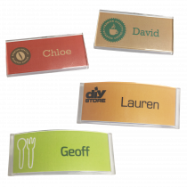 Multi-Purpose Clear Acrylic Name Badges