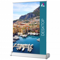 Single Sided A4 & A3 Desktop Roll Up Banners