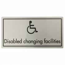 Disabled Changing Facilities Door Sign