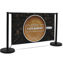 Economy Café Barrier 1500mm Full Kit