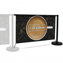 Economy Café Barrier 1500mm Extension Kit